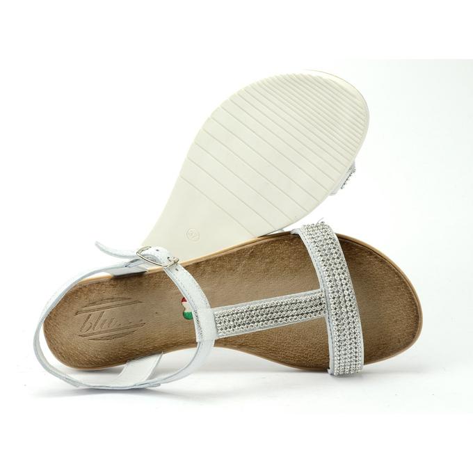 Sandały 2220 srebro 2, Blu, 37 39