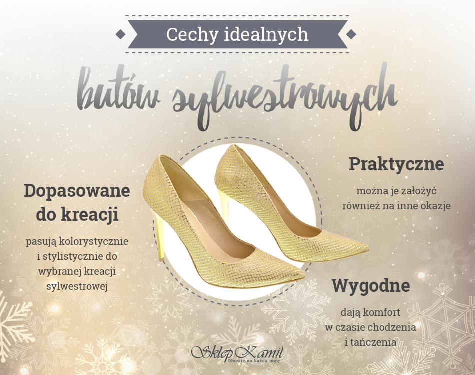 33b90f321f Jak wybrać idealne buty na sylwestra  - - SklepKamil.pl