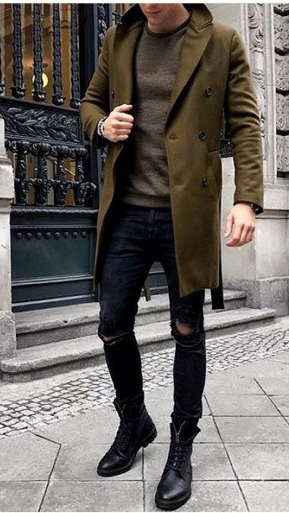buty do trenczu męskie