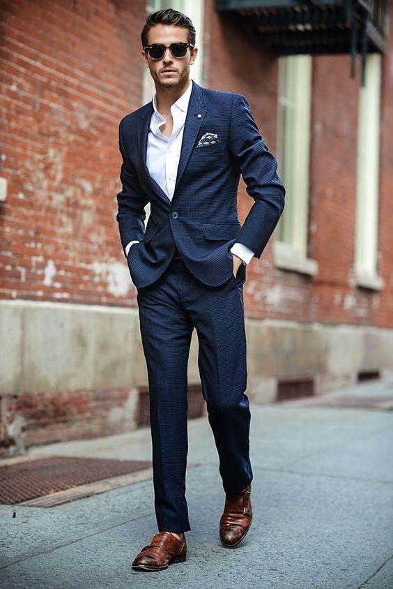 Sportowe buty do garnituru: przegląd inspiracji Blog Jego