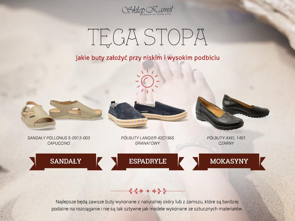 Buty na szeroką stopę i wysokie podbicie, obuwie na szeroką