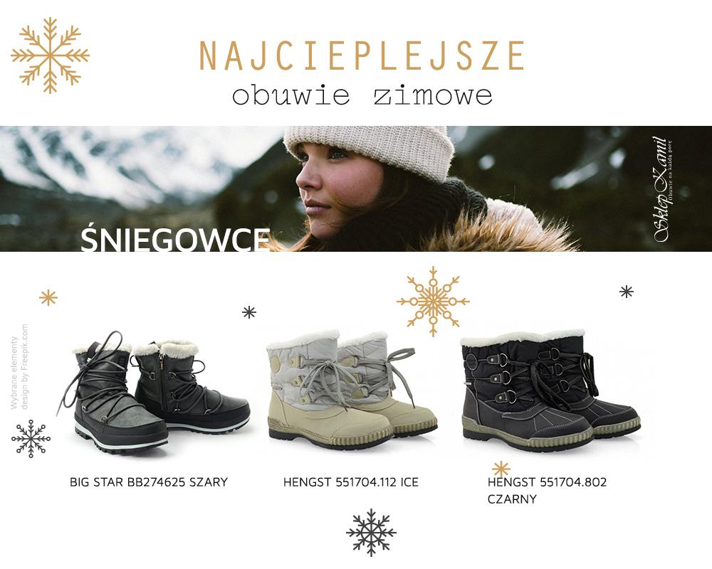 Najcieplejsze Buty Zimowe Naucz Sie Laczyc Komfort Z Moda